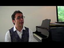 Embedded thumbnail for Testimonial Michel Bisceglia - Componist