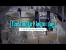 Embedded thumbnail for Filmpje Klantendag