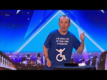 Embedded thumbnail for Britains Got Talent 2018 Lost Voice Guy